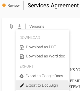 docusign download pdf